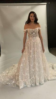 Cute Wedding Dress, Wedding Dress Trends, Dream Wedding Dresses, Wedding Attire, Beautiful Wedding Dress, Bridal Dresses, Bridesmaid Dresses, Beige Wedding Dress, Country Wedding Gowns