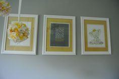 Neutral Grey and Yellow Nursery | Project Nursery
