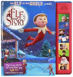 The Elf on the Shelf An Elf's StoryBook with Sound - Free Shipping
