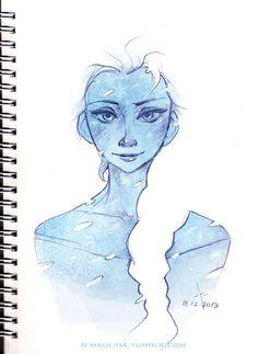 Elsa by: n-maulina <--WAIT. Flashing thought alert... Why don't we ship Elsa... With Loki?