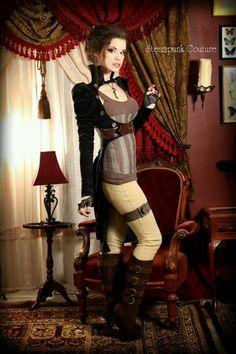 #SteamPUNK ☮k☮ /Gothic Ladies | Beauty | Fashion | Costume |