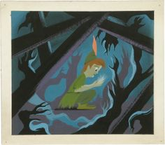 Mary Blair's concept art for Disney's Peter Pan