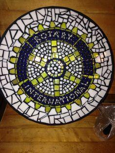 Mosaic Rotary International Stepping Stone for North Shore Rotary