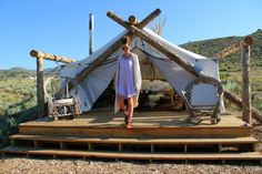 Il campeggio di charme si chiama Glamping