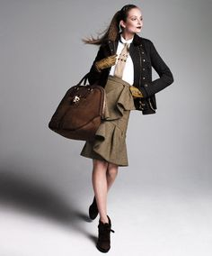 We salute this fall's Military trend. #Burberry