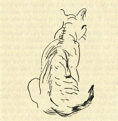 The Paris Review @parisreview |  The Actor James Mason Had a Great Sideline: Drawing Cats http://tpr.ly/1KDFtvw