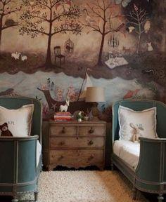 Girls Bedroom, Bedroom Decor, Bedroom Ideas, Master Bedroom, Kid Bedrooms, Wall Decor, Baby Bedroom, Wall Art, Childrens Bedrooms Shared
