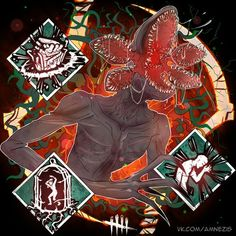 dead by daylight demogorgon Horror Icons, Horror Comics, Horror Film, Michael Myers, Demogorgon Stranger Things, Horror Drawing, Horror Artwork, Classic Horror Movies, Arte Horror