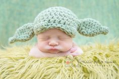Pin for Later: 26 of the Best Star Wars Halloween Costumes Ever Baby Yoda Honestly, nothing could be cuter than this crocheted Yoda ears cap ($30) for baby's first Halloween.