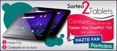 Consigue una tablet Airis OnePAD735