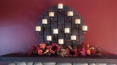 Fall 2014.  My mantle
