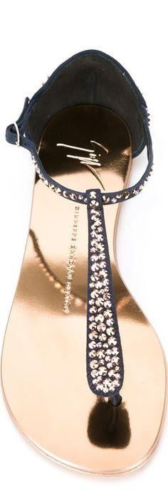 GIUSEPPE ZANOTTI DESIGN Embellished Sandals