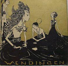 Wendingen magazine, 1928 - No. 5 - 9th series - Hindu-Javanese sculpture