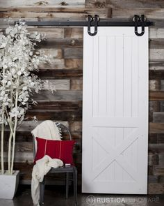 "<p>Designed after the Dutch-Style Barn Door, this Half ""X"" barn door is characterized by double panels, the top panel being solid slats and the bottom half of the door having an ""X"" overlay. Traditionally, Dutch –style doors were built to allow pressuring winds to disperse easier as only half of the door remained open at […]</p>"