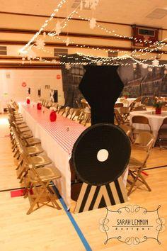 The Polar Express- A Ward Christmas Party – Sarah Lemmon Designs Polar Express Party, Polar Express Christmas Party, Polar Express Train, Ward Christmas Party, Office Christmas, Xmas Party, Kids Christmas, Christmas Activities, Polar Express Crafts
