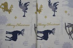 Sewn Christmas Ornaments, Tablecloths, Christmas Time, Decorative Pillows, I Shop, Decorations, Sewing, Fabric, Cotton
