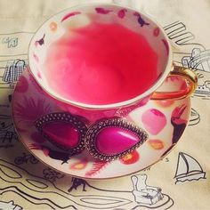 How's in for a #pink #tea? #rings http://tresjewellery.com/shop/rings/bohemian-bardot-ring-magenta