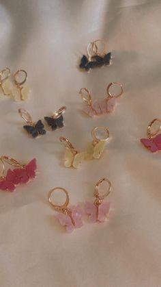 Ear Jewelry, Cute Jewelry, Jewelery, Jewelry Accessories, Jewelry Design, Jewelry Making, Stylish Jewelry, Fashion Jewelry, Women Jewelry