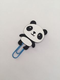 Panda clip for your planner or use as a bookmark.    Ships in 1-2 business days.