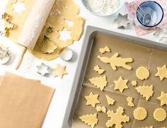 Vianočné pečenie pre vás-zakladny recept na krehke pecivo