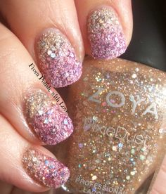 Magical Gradient with the new Zoya Magical Pixies for Summer 2014