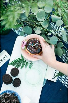 Photography : Plum & Oak Photo Read More on SMP: http://www.stylemepretty.com/living/2015/04/07/diy-donut-bar/