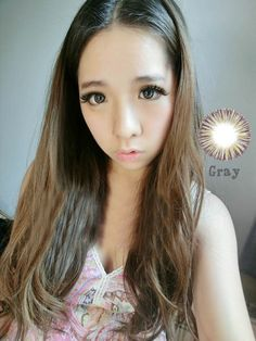 Fast Shipping Cosmetic Circle Contact Lenses Girls Favorite Dreamy Dandelion Grey