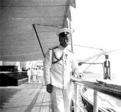Tsar Nicholas II at the Standart