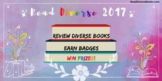 Read Diverse 2017 - A Reading And Book Review Challenge For Bloggers!
