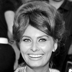 Sophia Loren's Changing Looks - 1961 - from InStyle.com