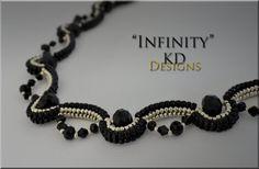 Tutorial/Pattern for Infinity by KDDesignsbyKDevine on Etsy