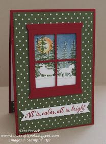 UK Demonstrator - Teri Pocock: Hearth & Home - with Wonderland Chrismas Cards, Christmas Cards 2018, Homemade Christmas Cards, Xmas Cards, Homemade Cards, Holiday Cards, Window Cards, Hearth And Home, Greeting Cards Handmade