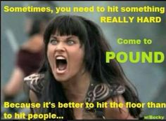 Funny Memes Zumba : Pound rockout workout meme gym humor funny bruce lee weapon becky