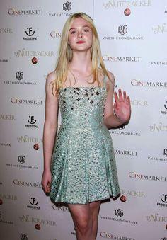 Elle Fanning Hot Pictures: Elle Fanning: L.A. Premiere of 'Nutcracker 3D'!