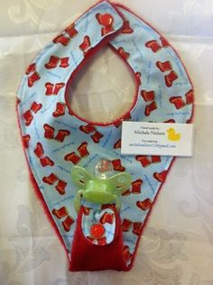 Soother Bibs - Michele's Creations