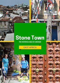 Stone Town, Zanzibar Pinterest Cover