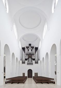 John Pawson's minimal St Moritz Church