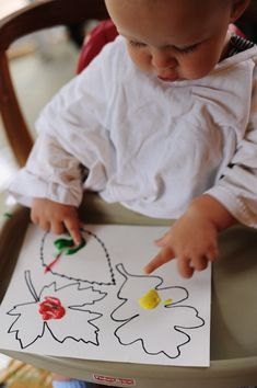 Rust & Sunshine: Fall Leaves - Fall Crafts For Toddlers