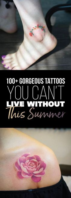 100+ Gorgeous Tattoos You Can't Live Without This Summer
