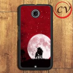 Unicorn And Red Sky Nexus 5,Nexus 6,Nexus 7 Case