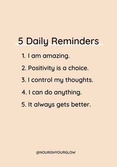 We all need daily reminders to help us stay in the right frame of mind ✨ use the messages to help overcome a negative mindset and to reach your full potential. Hit save so you can refer back to them 👇 . Live Quotes For Him, Life Quotes To Live By, Positive Quotes For Life, Self Love Quotes, Daily Quotes, Change Quotes, Inspirational Bible Quotes, Inspiring Quotes About Life, Deep Quotes About Life