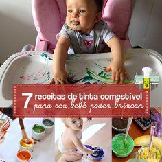 Veja como fazer tinta comestível para iniciar os seus filhos pequenos nas atividades artísticas com segurança.
