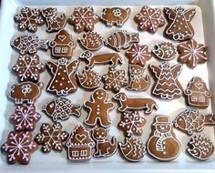 DSC_0235 Christmas Cookies Gift, Christmas Dishes, Christmas Gingerbread, Christmas Desserts, Christmas Treats, Biscuit Decoration, Food Decoration, Gingerbread Decorations, Gingerbread Cookies