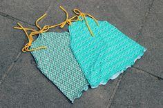 Klimperklein Raglankleid Tutorial mit Beleg- ein einfaches Sommerkleidchen aus einem Raglankleid
