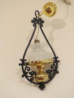 Dollhouse Miniature Bodo Hennig Hanging Lamp NIB Electrical Germany  1:12 Z