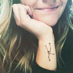 Taurus constellation tattoo
