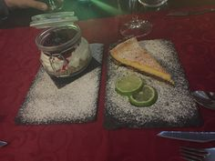 CheeseCake e Tarte de Lima