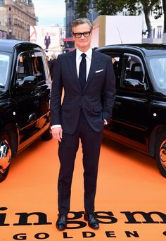 Colin Firth in Tom Ford
