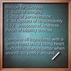 Essay on discipline recipe for success