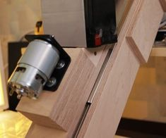 Making the Drill Press. Is It Worth It? [Build + Tests]: 17 Steps (with Pictures) Homemade Drill Press, Drill Press Stand, Speed Square, Do It Yourself Projects, Wood Screws, Wood Glue, Stick It Out, Diy Tools, Woodworking Shop